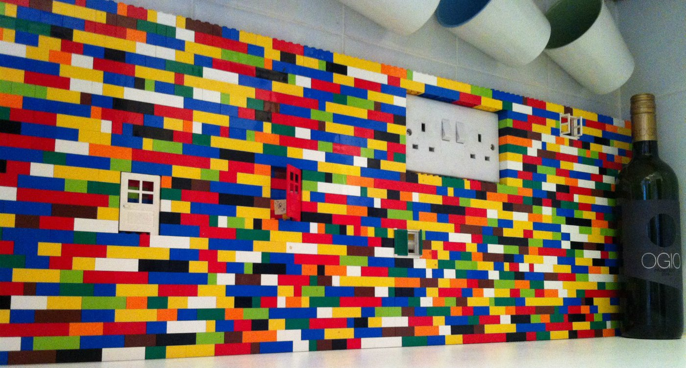 Lego Building Blocks For Home Decoration