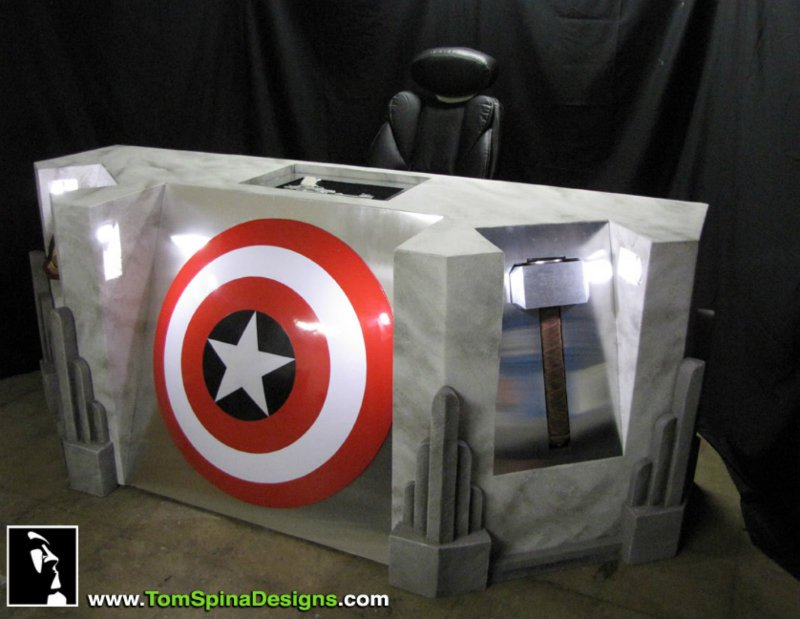 Avengers Tom Spina designs home decor.jpg