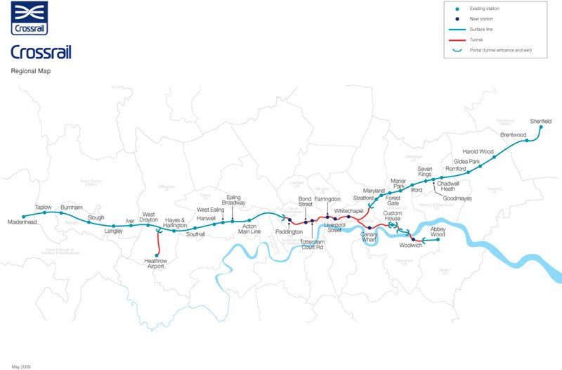 Hanwell Property Prices Crossrail