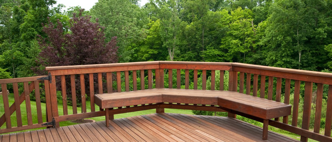 how to make garden decking