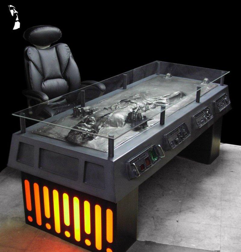 RegalRobot Han Solo carbonite desk.jpg