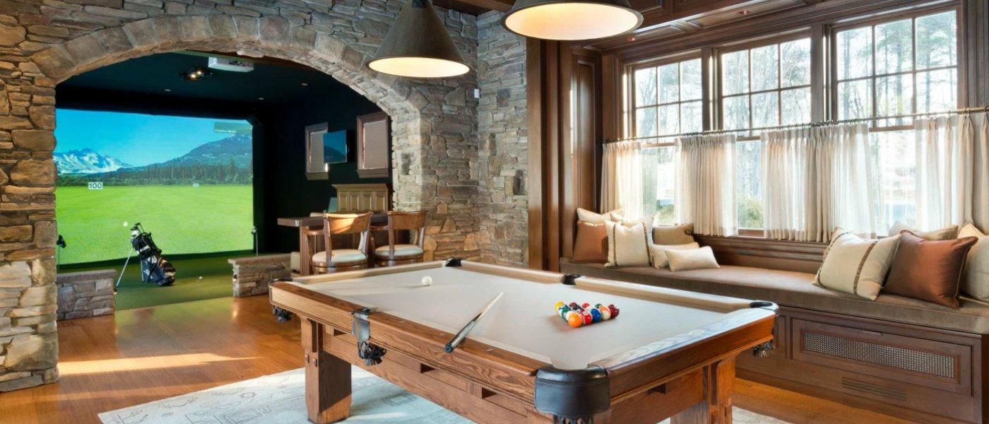 Luxury Man Cave Ideas