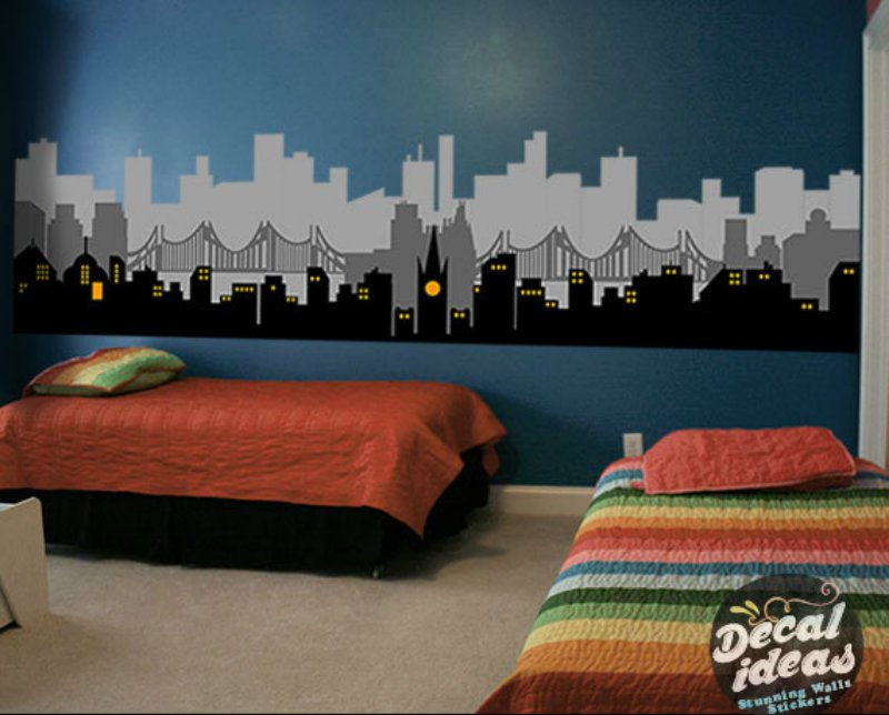 StunningWalls Superhero Home Decor