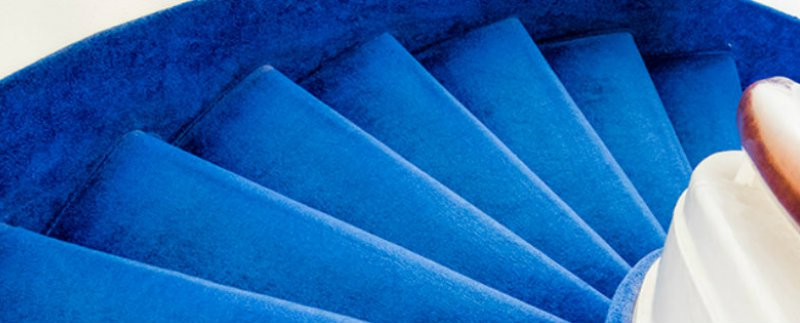 Blue Stairs 3