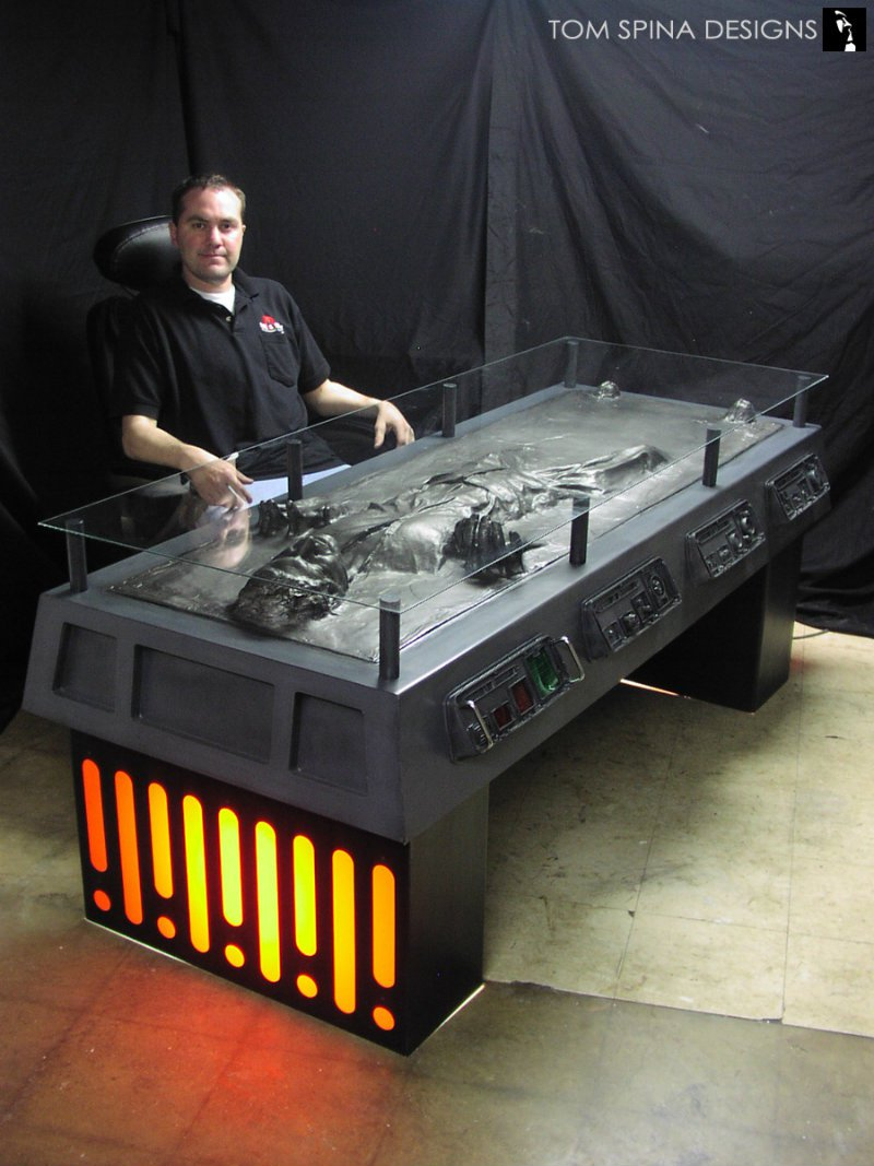 Tom Spina Han Solo Desk Regal Robot.jpg