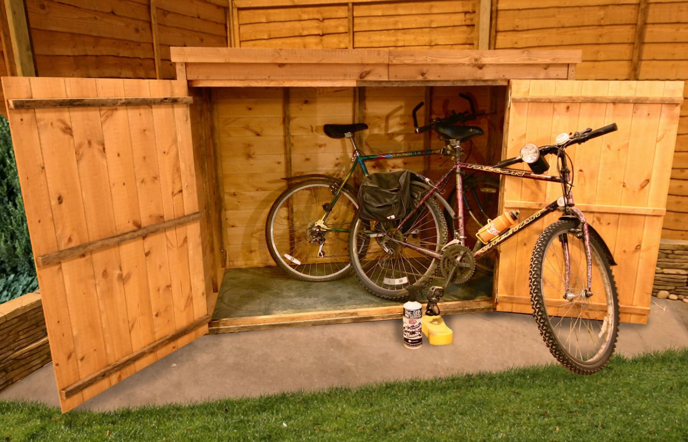 Installing a bike shed check what the rules are before you order your bike shed and you could end up save yourself from an expensive hassle down the line solutioingenieria Image collections