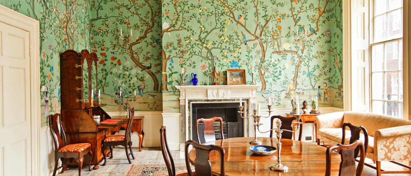 Great dining room wallpaper ideas for Wallpaper dining room ideas