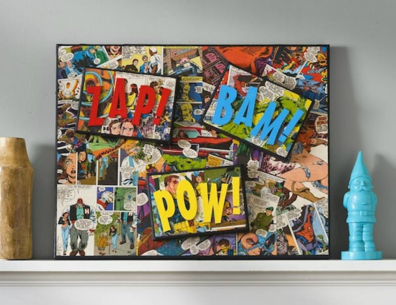 Mod Podge Rocks Avengers Superhero Home Decor