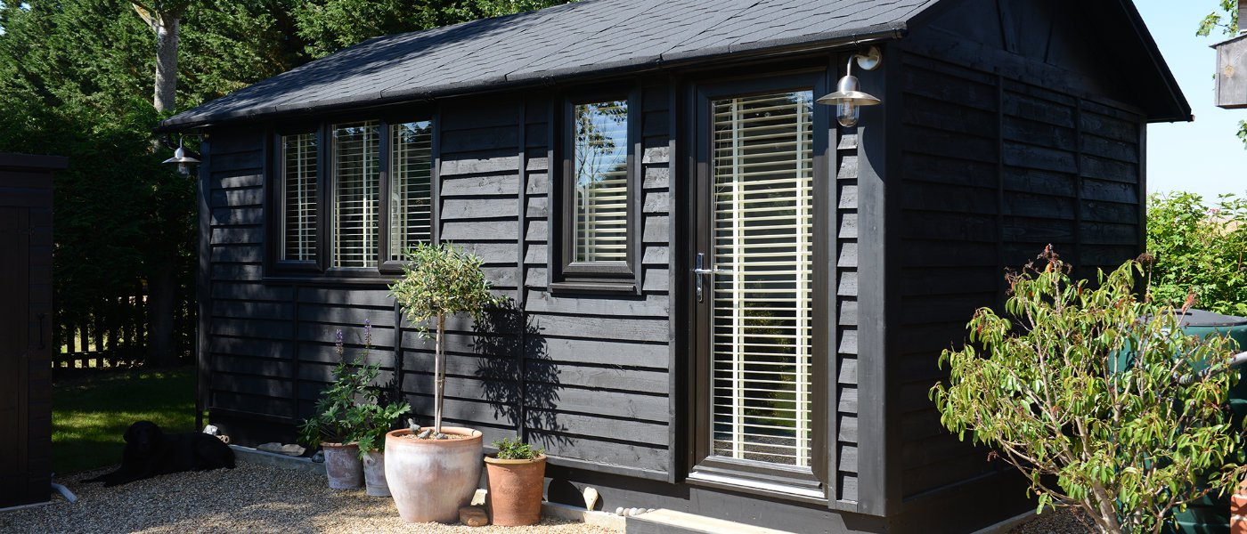 office in the garden. At The Other End Of Spectrum Is Garden Office: A Completely Separate Structure To Your Home, Really Help Work And Play. Office In