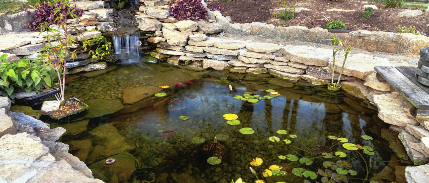 how to make a small pond in your garden