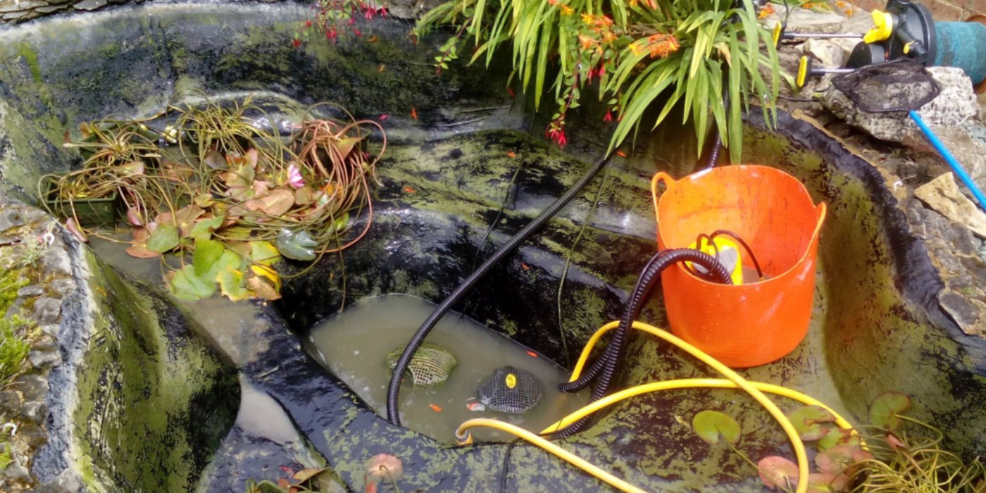 How to remove a pond for Garden pond specialists