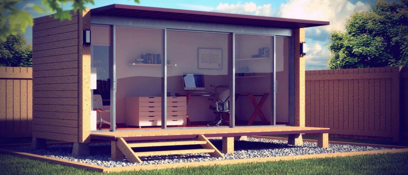 build garden office.  garden why build a garden office and build garden office