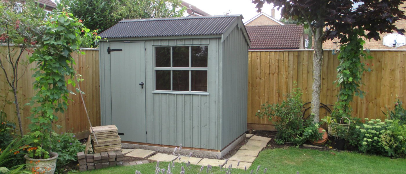Garden Sheds Installed installing a shed