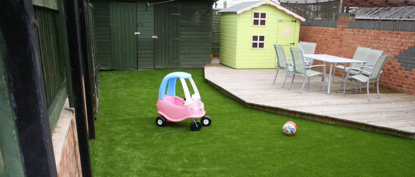 Child friendly garden