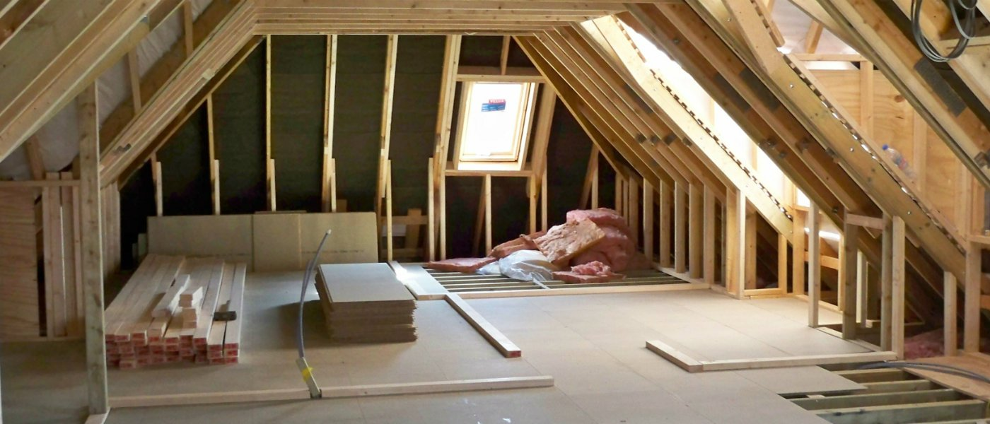 Can i live in my home during a loft conversion for How much to build a garage with loft