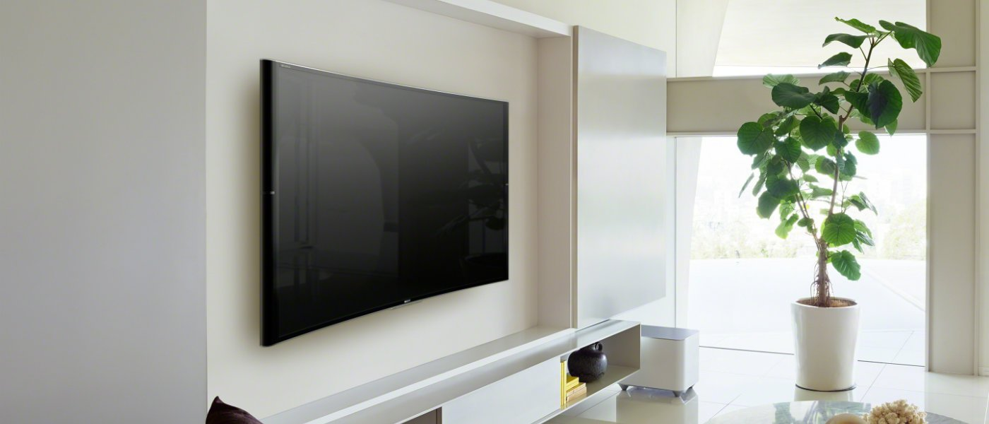 mounting a tv on a wall. Black Bedroom Furniture Sets. Home Design Ideas